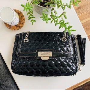 *NWOT* NINE WEST | faux leather black purse